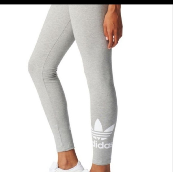 8a12e6d4878 New Adidas Originals Womens Trefoil Leggings